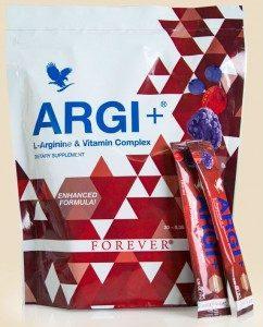 Arginina regasita in Forever Argi Plus