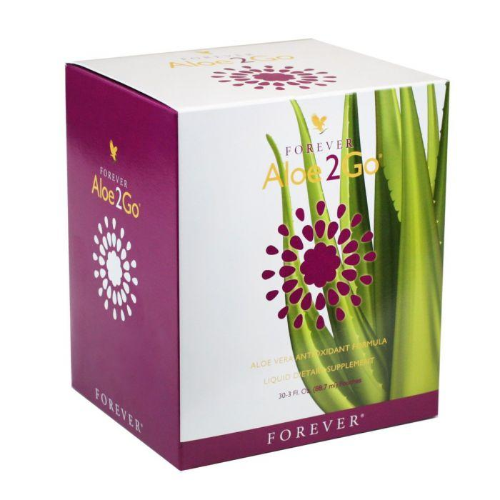 Rodiile combinate cu aloe vera in Forever Aloe2Go
